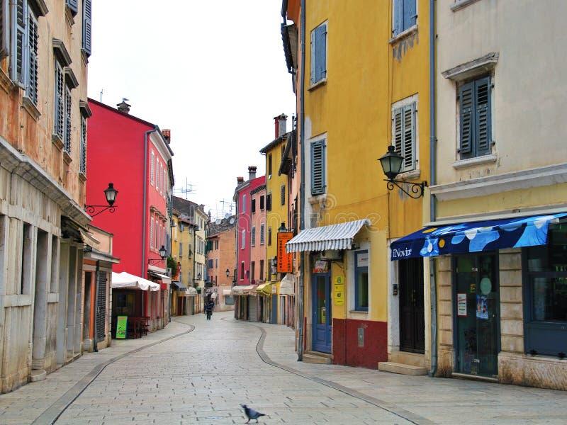 Calle Mediterránea Vieja Imagen de archivo editorial