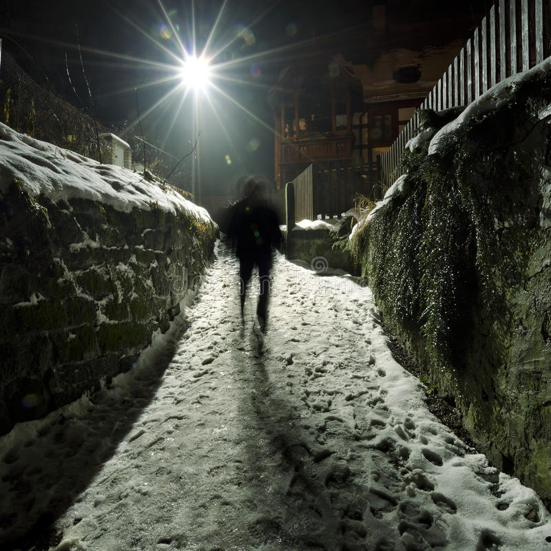 Calle Nevado imagenes de archivo