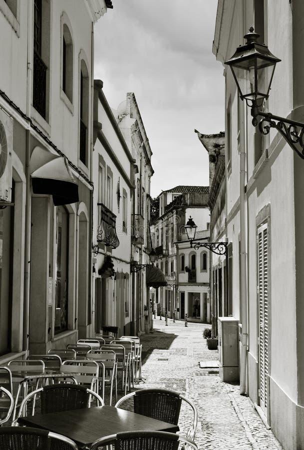 Calle pintoresca foto de archivo
