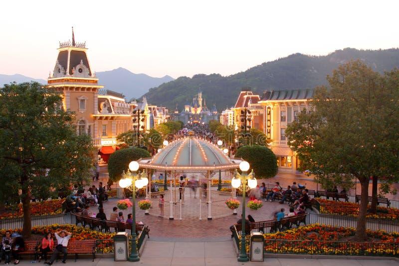 Hong Kong Disneyland foto de archivo