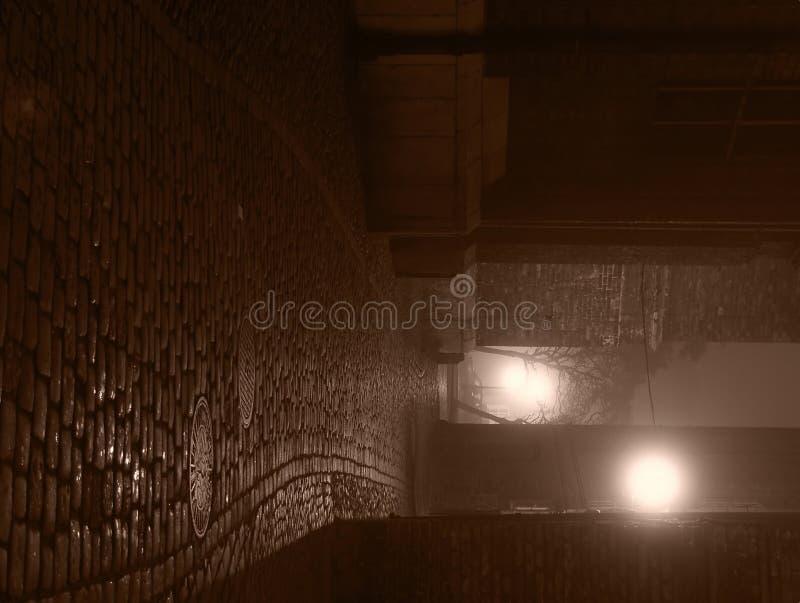 Calle solitaria fotografía de archivo libre de regalías