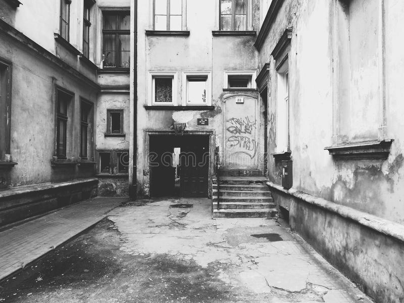 Calle típica del hip-hop imagen de archivo
