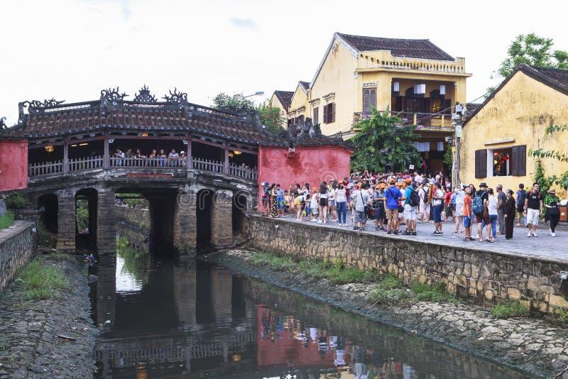 Calle vieja Hoi An, Vietnam fotografía de archivo libre de regalías