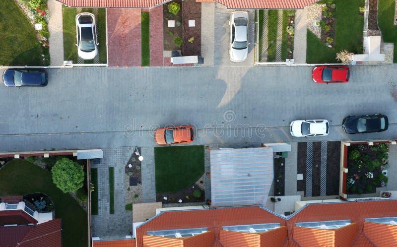 Calle y calzadas foto de archivo