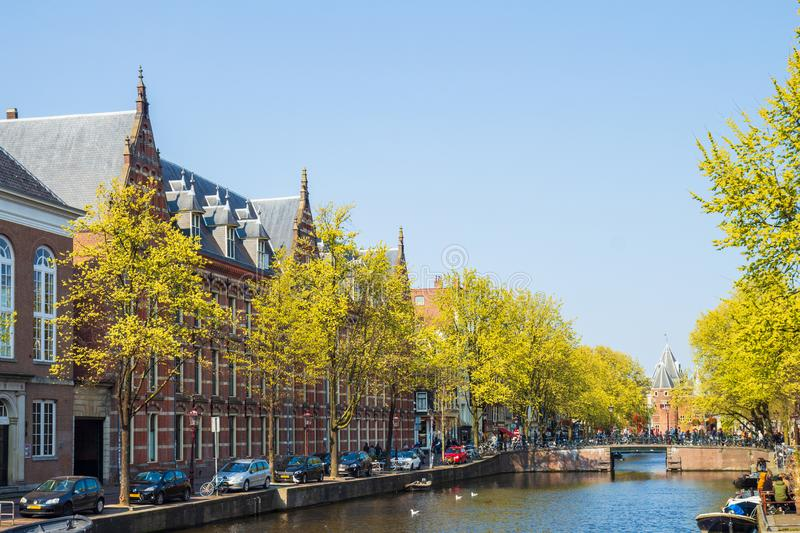 Bus House and Weigh House, Amsterdam, the Netherlands stock photos