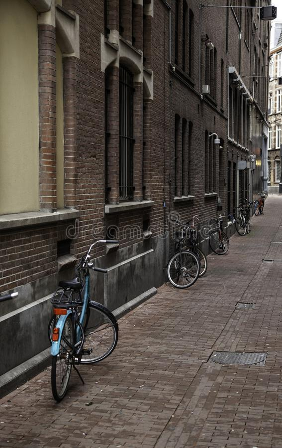 Callejón de Amsterdam fotos de archivo libres de regalías