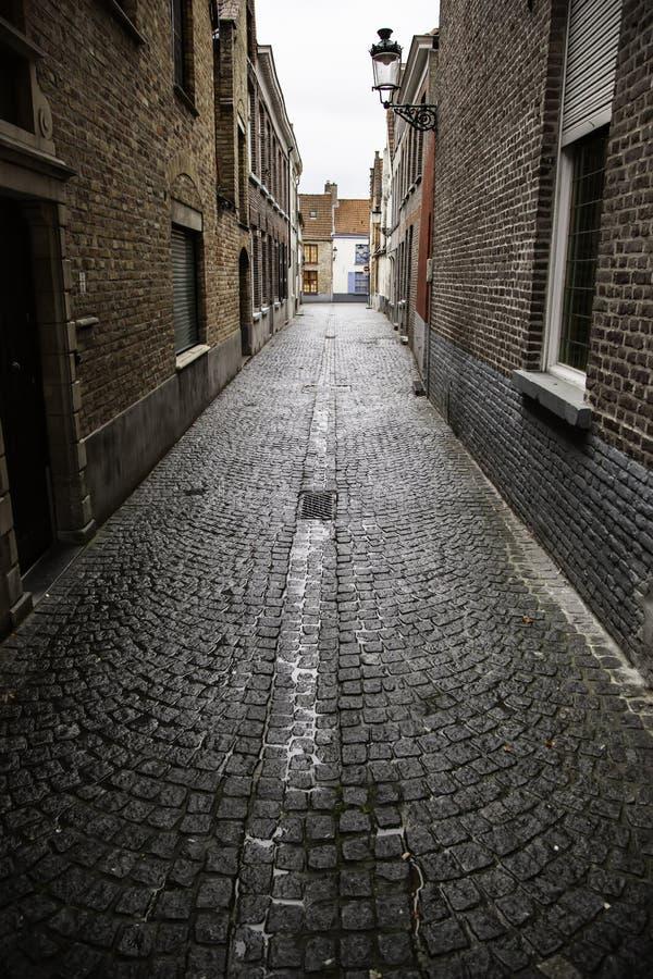 Callejón de Amsterdam imagen de archivo