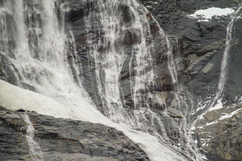 Callejón del glaciar - Patagonia la Argentina fotografía de archivo libre de regalías