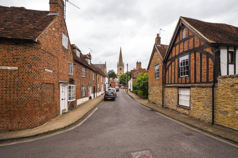 Calles de Buckingham imágenes de archivo libres de regalías