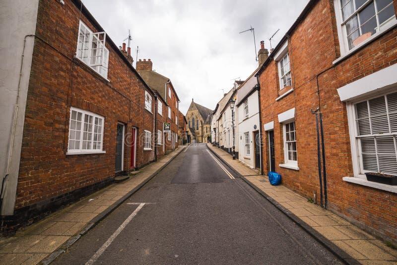 Calles de Buckingham imagen de archivo