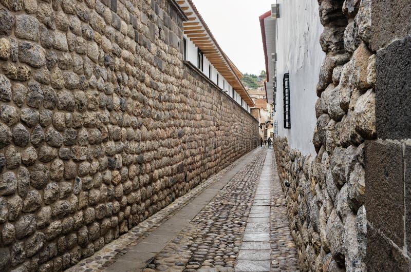 Calles de Cuzco, Perú imágenes de archivo libres de regalías