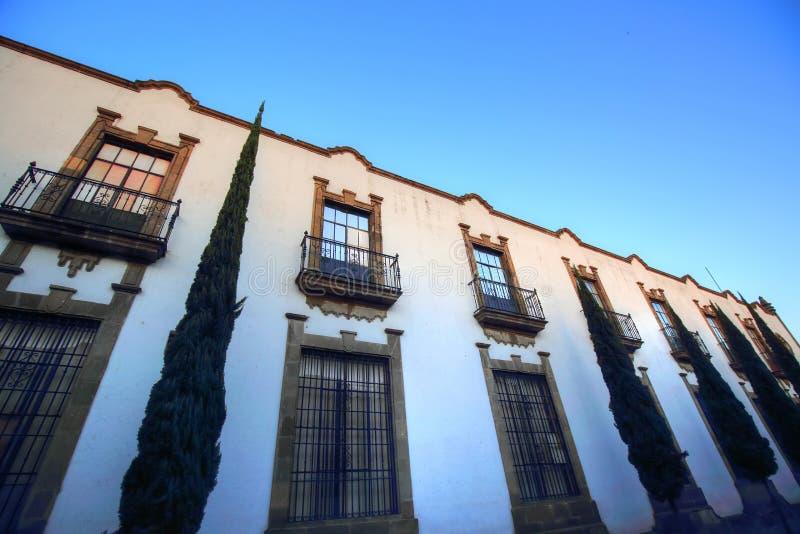 Calles de Guadalajara en la ciudad histórica, México imágenes de archivo libres de regalías