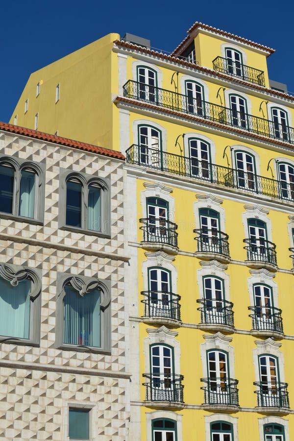 Calles de Lisboa foto de archivo libre de regalías