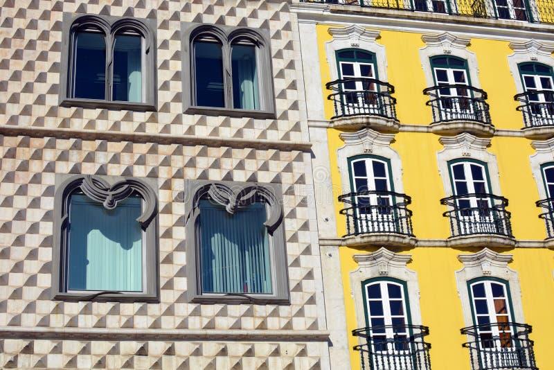 Calles de Lisboa foto de archivo