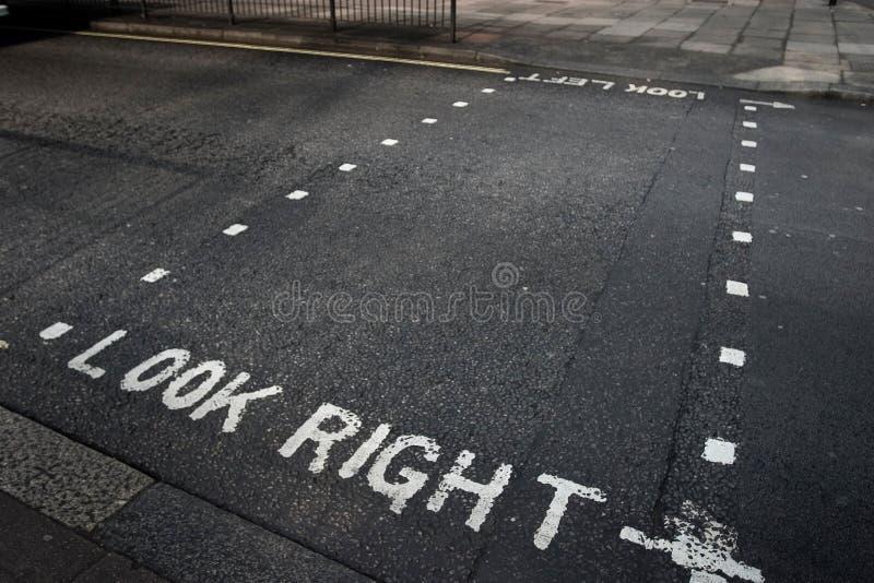 Calles de Londres foto de archivo libre de regalías