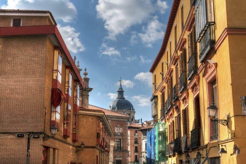 Calles de Madrid imágenes de archivo libres de regalías