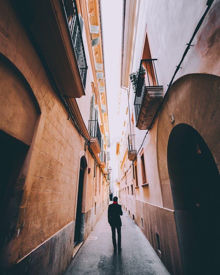 Calles de Majorca imagen de archivo libre de regalías