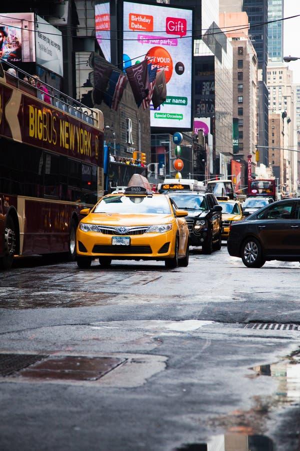 Calles de Manhattan imágenes de archivo libres de regalías