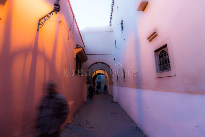 Calles de Marrakesh imágenes de archivo libres de regalías