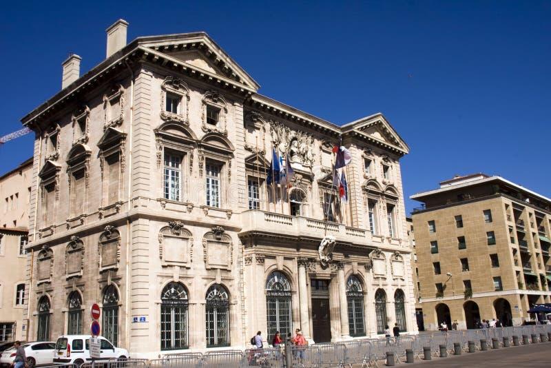 Calles de Marsella imagen de archivo