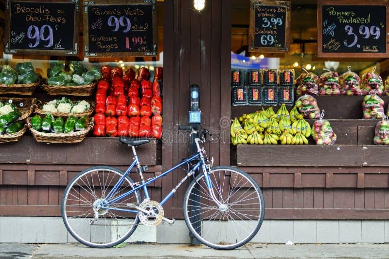 Calles de Montreal fotografía de archivo libre de regalías