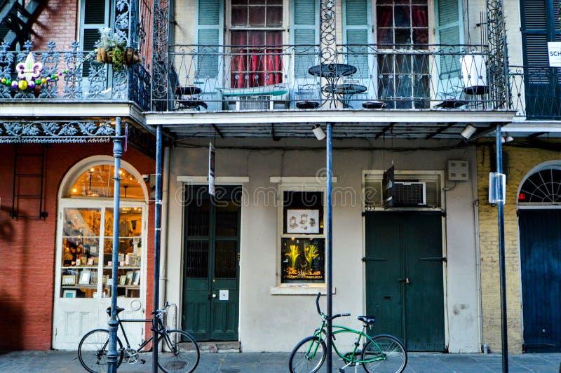 Calles de New Orleans fotografía de archivo