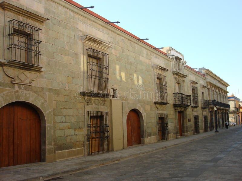 Calles de Oaxaca II foto de archivo libre de regalías