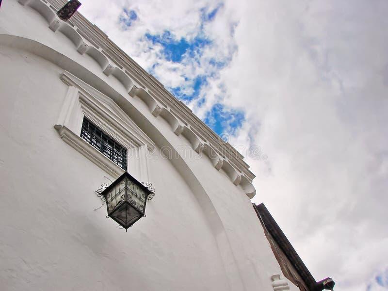 Calles de Quito, ciudad vieja foto de archivo libre de regalías