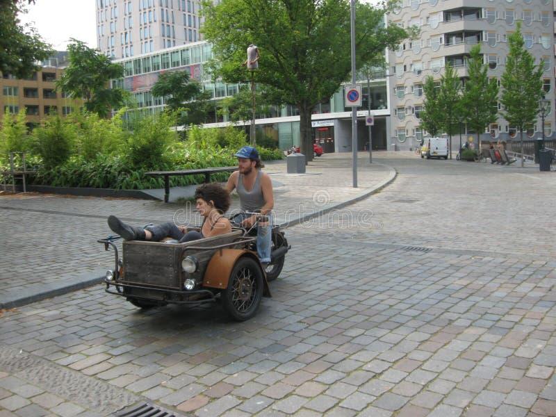 Calles de Rotterdam fotografía de archivo libre de regalías