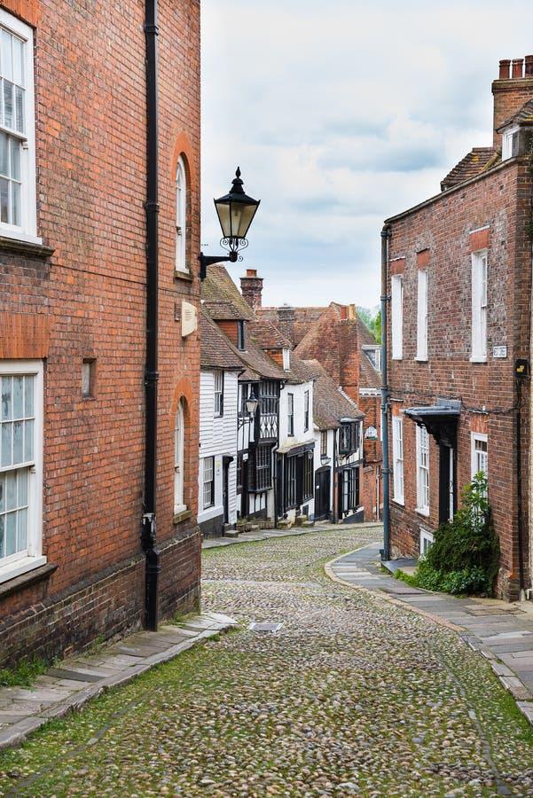 Calles de Rye fotos de archivo libres de regalías
