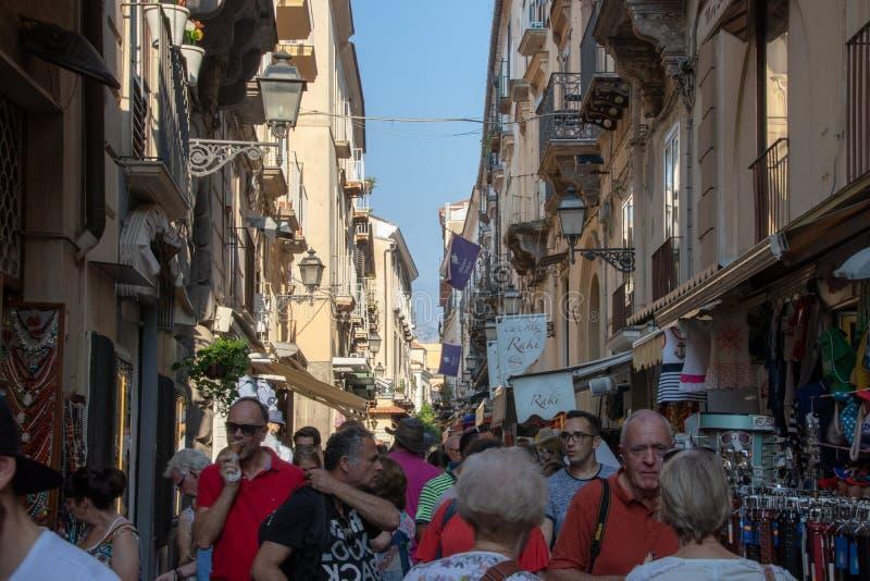 Calles de Sorrento, Italia fotografía de archivo libre de regalías