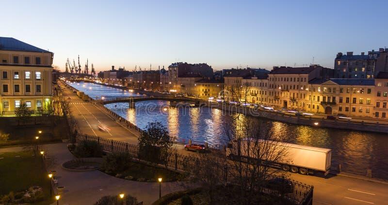 Calles de St Petersburg imágenes de archivo libres de regalías