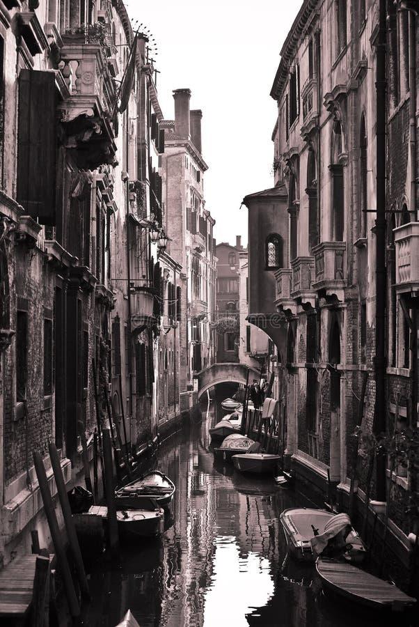 Calles de Venecia fotos de archivo