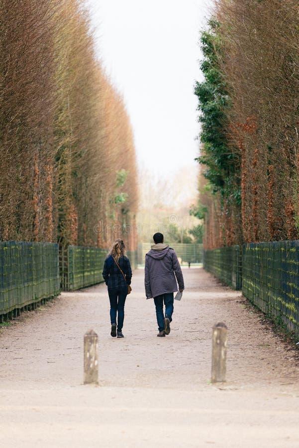 Calles de Versalles imagen de archivo