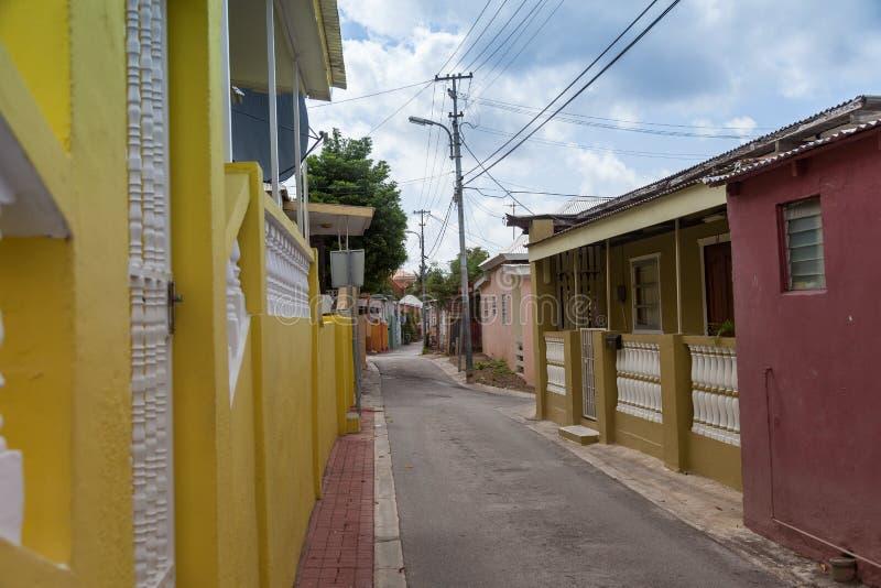 Calles traseras foto de archivo libre de regalías