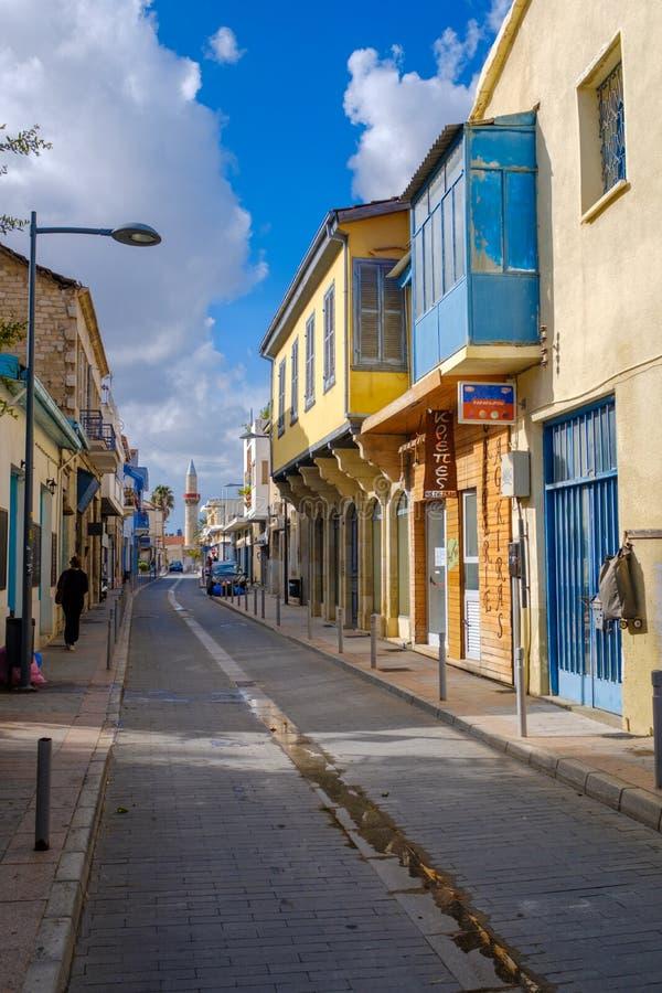Calles traseras de Limassol imágenes de archivo libres de regalías