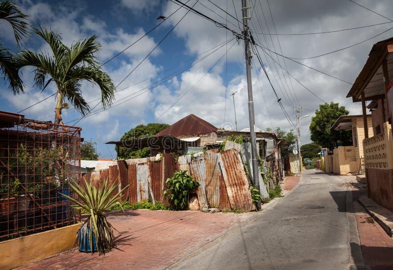 Calles traseras viejas fotografía de archivo libre de regalías