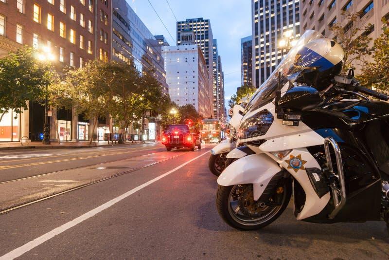 Calles y arquitectura de San Fransisco fotos de archivo