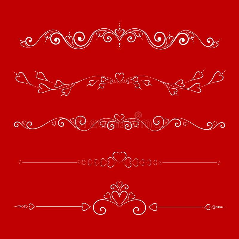 calligraphic royalty illustrazione gratis