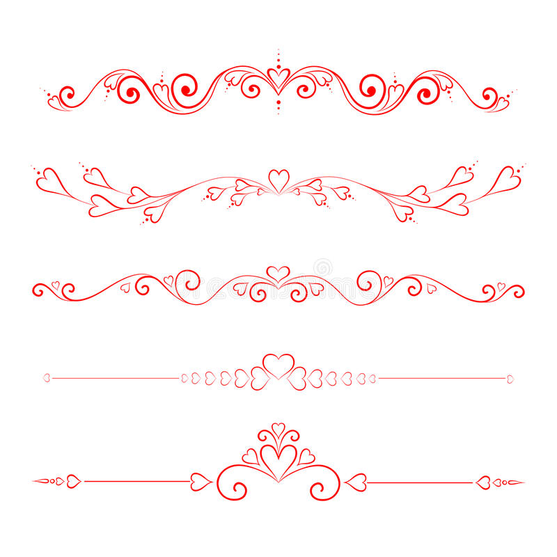 calligraphic illustrazione vettoriale