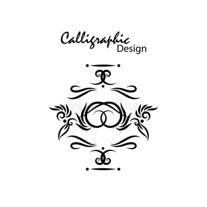 Calligraphic Design Stock Photos