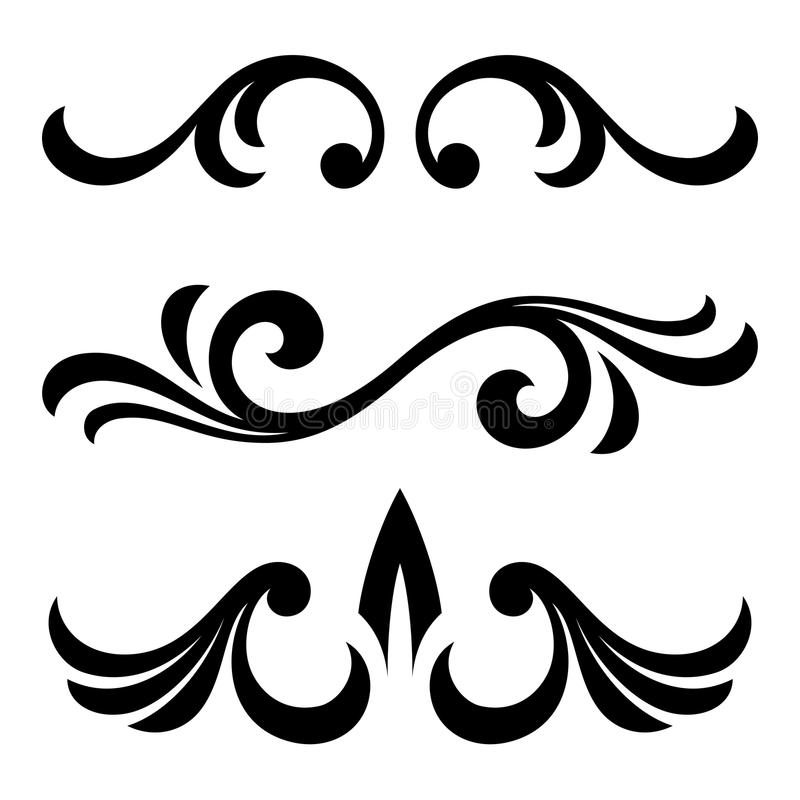 Download Calligraphic Design Elements Stock Vector - Image: 39752719
