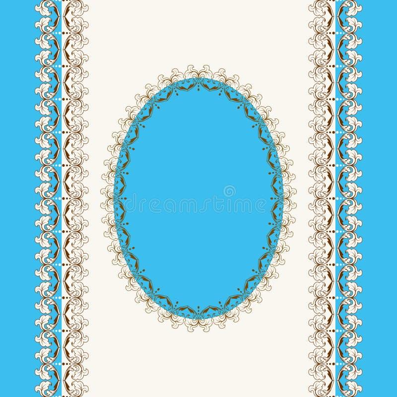 calligraphic ram vektor illustrationer