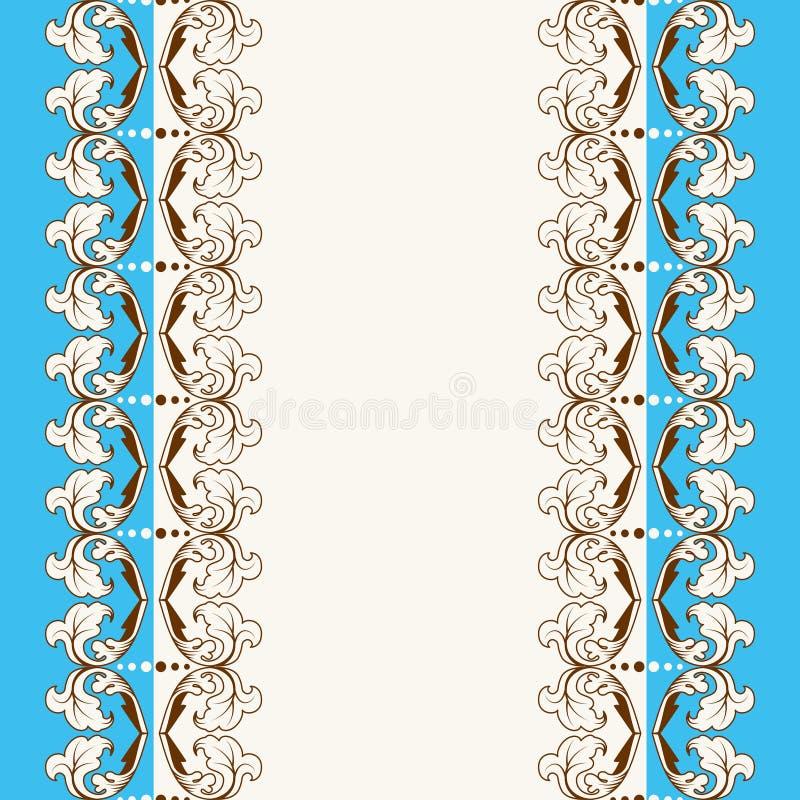 calligraphic ram royaltyfri illustrationer