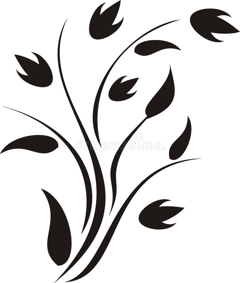 Calligraphie abstraite illustration libre de droits