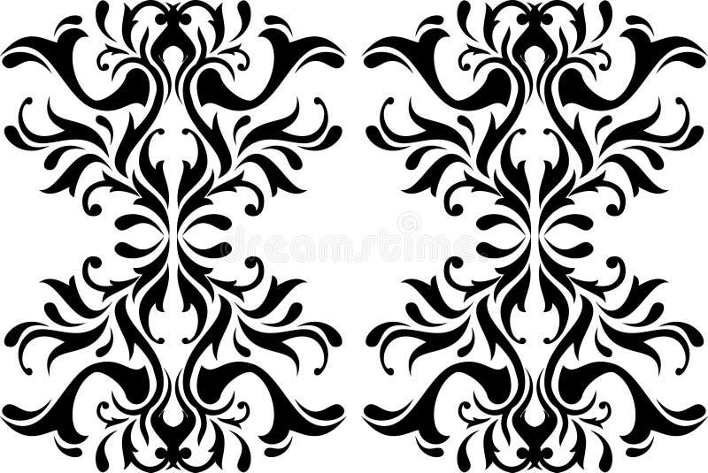 Calligraphie abstraite illustration stock
