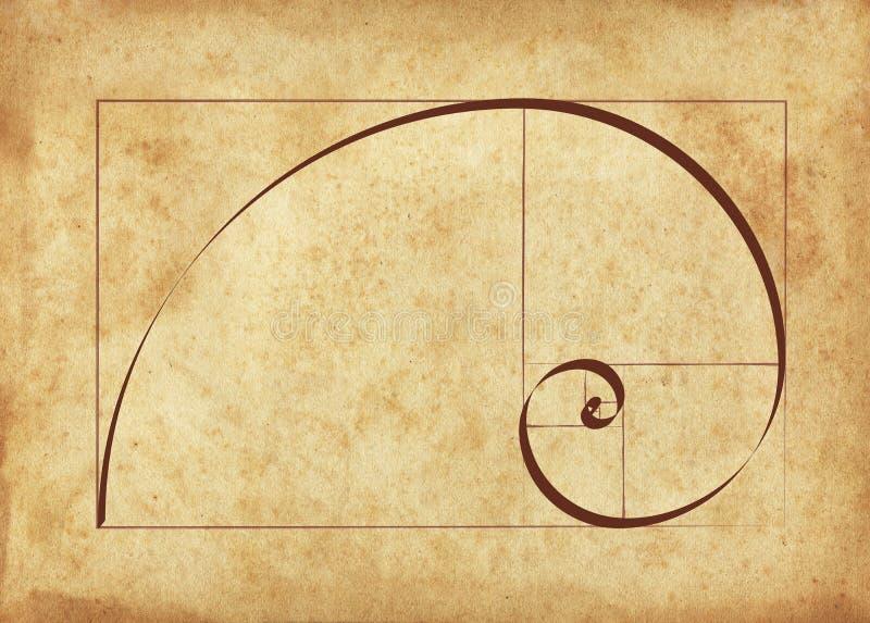 Calligraphie de la géométrie sacrée photographie stock libre de droits
