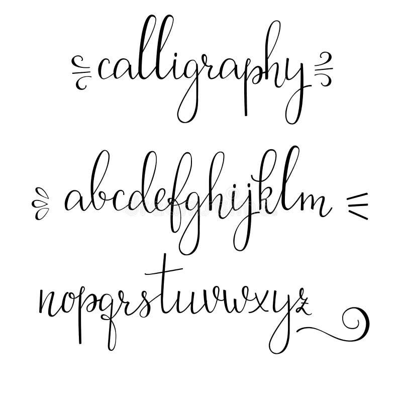 caligraphy script fonts