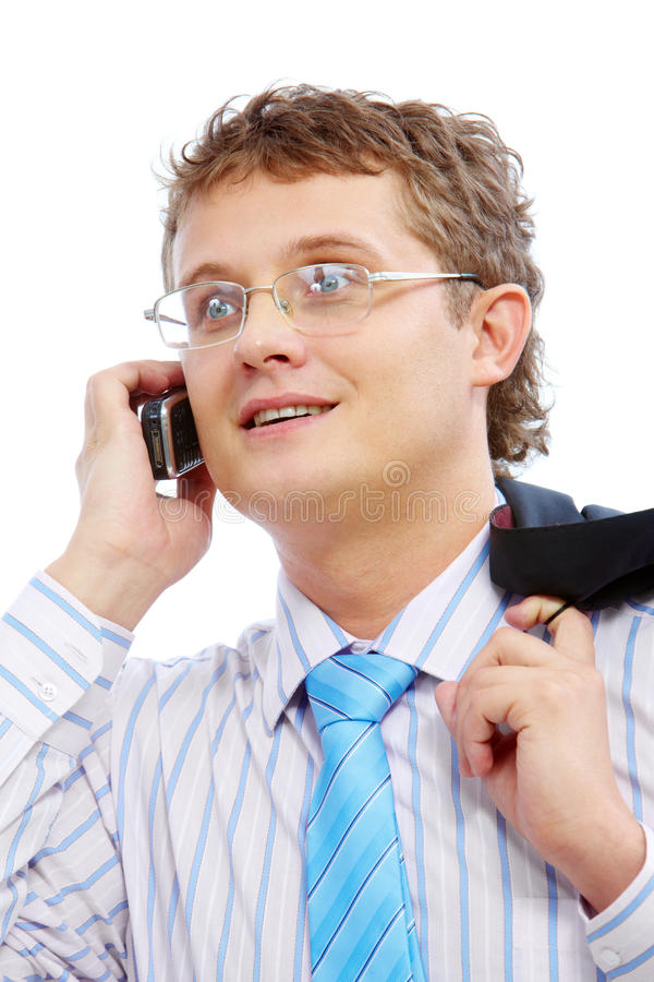 Download Calling stock image. Image of collar, boss, employer - 14286877
