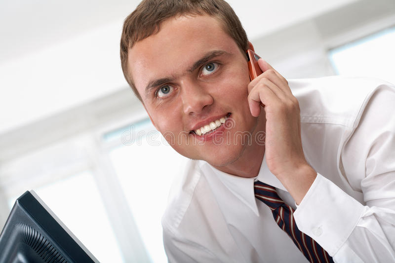 Download Calling stock image. Image of mobile, cellular, head - 15738485